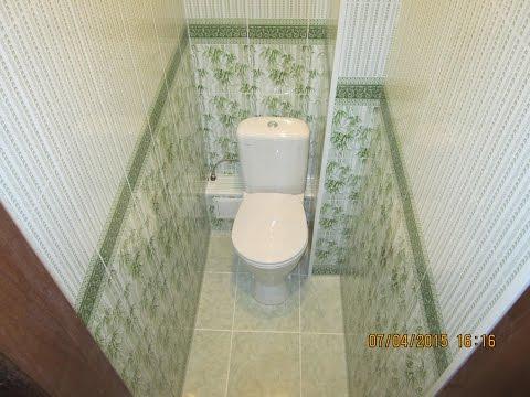 Как сделать панель туалет