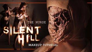 Silent Hill - THE NURSE - Makeup Tutorial SFX Halloween | #SPOOKTOBER