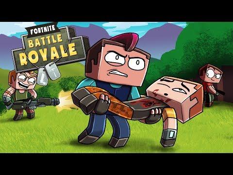 Minecraft Fortnite - SAVE NOOB TEAMMATE CHALLENGE! (Fortnite Battle Royale)