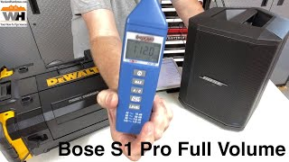 Is The Bose S1 Pro Worth The Extra Money Over The DeWalt TStak Connect For Your Workshop? Sound Demo
