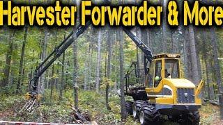 Sampo Rosenlew FR 28 mini Forwarder - Austrofoma 2015