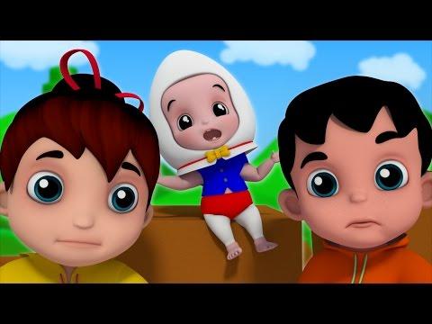 Humpty Dumpty Sat On A Wall Nursery Rhymes Kids Songs Baby Rhymes