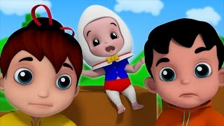 Humpty Dumpty Sat On A Wall | Nursery Rhymes | Kids Songs | Baby Rhymes