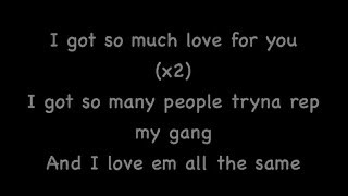 So Much - Wiz Khalifa - Official Lyrics Video