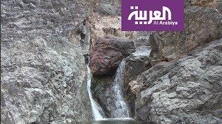 كاميرا العربية تتجول جواً في وادي الفرع