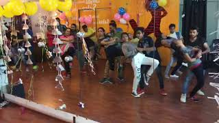 Bollysalsa routine just knock 4 dance academy