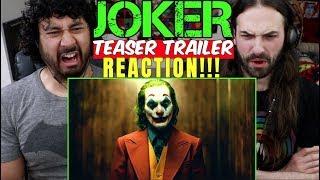 JOKER - Teaser TRAILER - REACTION!!!