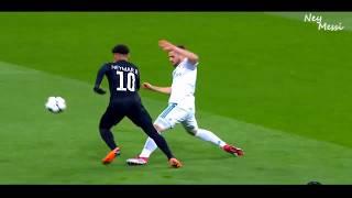 Neymar Jr vs Real Madrid (Away) HD 720i (14/02/2018)