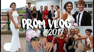 PROM VLOG 2017 | Hair, Makeup, Dress & More | Sophie Clough