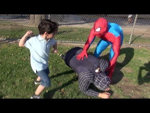 SPIDERMAN IN REAL LIFE PRANK