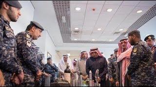 عرض عسكري كويتي يشهده وزير الداخلية السعودي مع نظيره بدولة الكويت