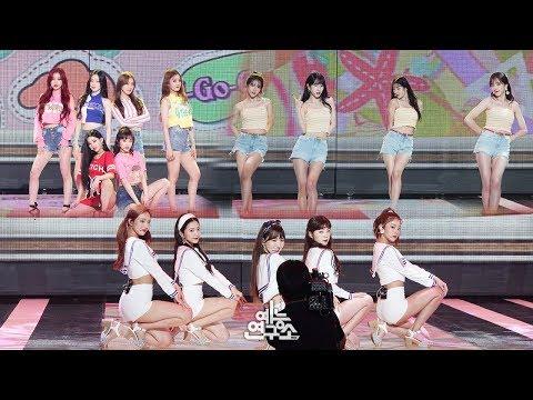 [예능연구소 직캠] (여자)아이들 우주소녀 레드벨벳 썸머 송 메들리 @쇼!음악중심_20180811 (G)I-DLE WJSN Red Velvet Special stage in 4K