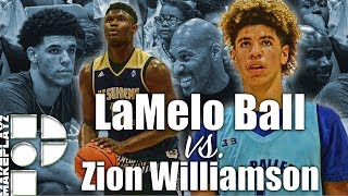 LaMelo Ball & Zion Williamson CRAZY PACKED Match-Up in Las Vegas! LaMelo Drops 38 and Zion Drops 31!