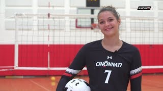 Cincinnati Volleyball: Get to Know Dasha Cabarkapa