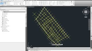 Create a surface in Civil 3D from an existing AutoCAD drawing, Part 1 of 2