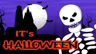 Halloween | The Spirit Of Halloween | Halloween Songs | Scary Nursery Rhymes | HooplaKidz TV