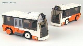 LEGO custom City Mini Bus MOC(s)