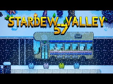STARDEW VALLEY [057] - Bus(s) im Morgengrauen