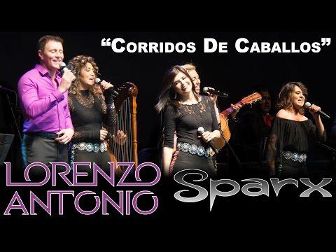Lorenzo Antonio y SPARX Corridos de Caballos en vivo
