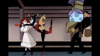 Arlequina e Hera gastando o dinheiro do Batman (Batman/ Arlequina/ Hera Venenosa) DUBLADO