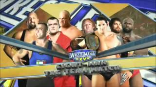 WWE WrestleMania XXVII Full Match Card(HD) - TONIGHT!