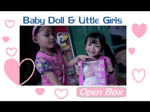 Baby Dolls and Little Girls Open Box My Lovely Baby (hdg kids)