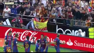 Valencia CF vs FC Barcelona - Ray Hudson's call of the final sequence (HD)