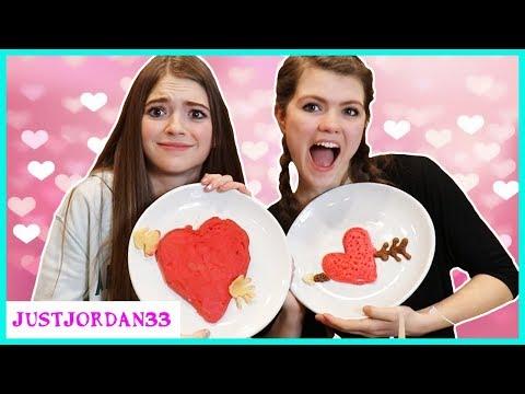 Xxx Mp4 Valentines Pancake Art Challenge JustJordan33 3gp Sex