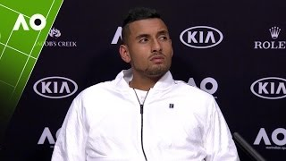Nick Kyrgios press conference (2R) | Australian Open 2017