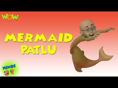 Xxx Mp4 Mermaid Patlu Motu Patlu In Hindi 3D Animation Cartoon For Kids As Seen On Nickelodeon 3gp Sex