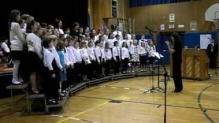 North Street School Chorus singing