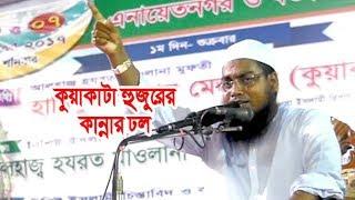 বুকফাটা আর্তনাদে কান্না ধরেরাখা কঠিন Bangla Waz 2017 Mufti Habibur Rahman Misbah
