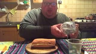 Challenge del panino con cotto e galbanone: 2800 kcal