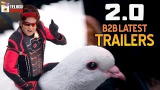 2.0 Movie B2B LATEST TRAILERS | Rajinikanth | Akshay Kumar | Shankar | AR Rahman | Telugu Cinema