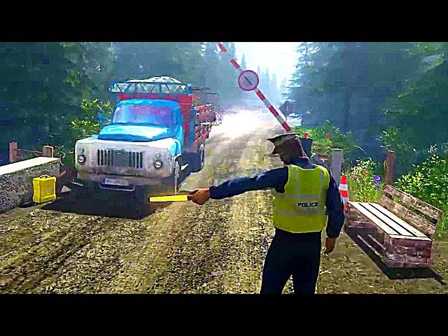 Contraband Police - Official Gameplay Trailer (New Simulation Game 2018)