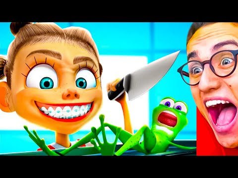 Reacting To FUNNY ANIMATIONS YOU WILL LAUGH