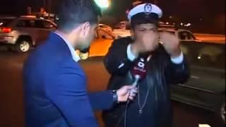 حماية وزير حقوق الانسان محمد مهدي البياتي تعتدي بالضرب على شرطي مرور وضابط برتبة عقيد