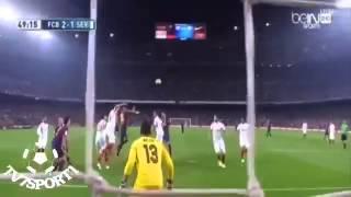 أهداف برشلونة وإشبيلية 5-1 بتعليق الشوالي جودة عالية FC Barcelona vs Savilla 5-1