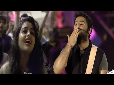 😍😍Arijit Singh Giving Flying Kiss😙 to Fan Girl and She Got Emotional😢|♥️Mtv India tour 2018♥️
