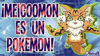 ¡Meicoomon es un Pokémon!