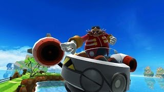 Sonic Dash - Eggman Boss (vs Sonic) [Widescreen / Landscape]
