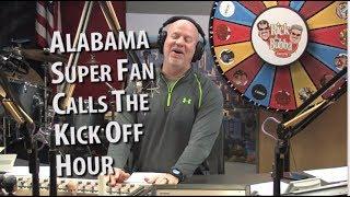 "Alabama Super Fan ""Dickey Nadmire"" Calls The Show"