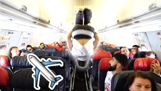 ✈️ Insane Backflips on Airplane! ✈️