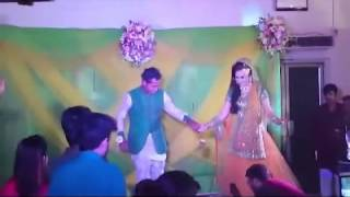 Mushfiqur Rahim and his wife dance together at Holud