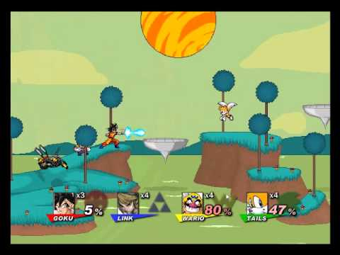 SSF2 The new 0.7v Gameplay