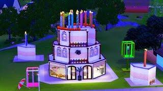 Sims 3 торговый центр «Торт»