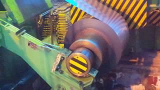 6 HI Cold Rolling Mill 1250 mm 1200 mpm - 0.128 mm Gauge Rolling
