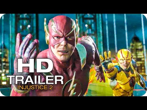 Injustice 2 Trailer Shattered Alliances Part 2 2017 The Flash vs Reverse Flash