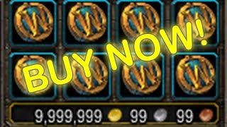 BUY WOW TOKENS in LEGION 7.3.5 BEFORE BATTLE FOR AZEROTH EXPANSION | (World of Warcraft Gold Guide)