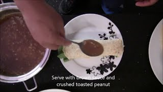 How to make lumpia sariwa brown sauce
